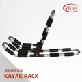 Y02007R Folding Kayak carrier Canoe rack roof carrier kayak stacker holder