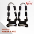 Y02016V Folding Kayak carrier Canoe rack roof carrier kayak stacker holder
