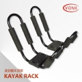 Y02023 Folding Kayak carrier Canoe rack roof carrier kayak stacker holder