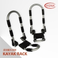Y02025R Folding Kayak carrier Canoe rack roof carrier kayak stacker holder