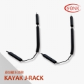 Y02040 Kayak carrier Canoe J-rack roof carrier kayak stacker holder