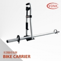 Y04010 Deluxe aluminum roof racks for universal car with roof rails/bike carrier/ bike racks